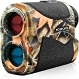 WOSPORTS Hunting Range Finder, 700 Yards Archery Laser Rangefinder for Bow Hunting with Flagpole Lock, Ranging, Scan…