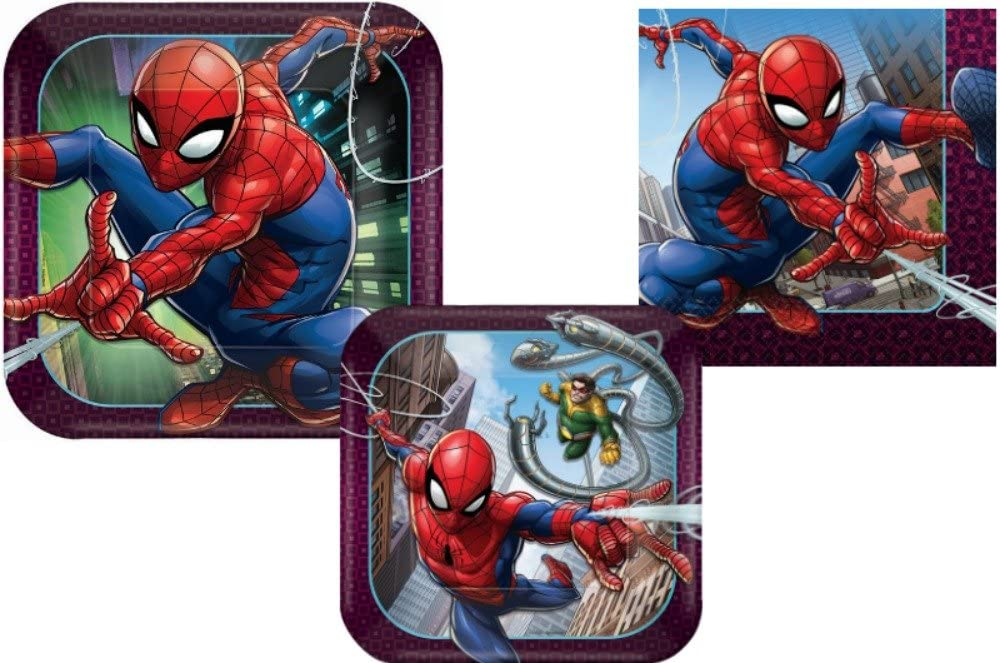 Spiderman Party Bundles for 8 Guests