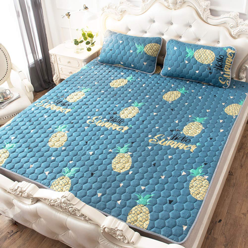 Breathable Japanese Tatami Mattress Futon,Ultra Soft Thicken 5cm Foldable Floor mat Student Dormitory-A 90x195cm 35x77inch