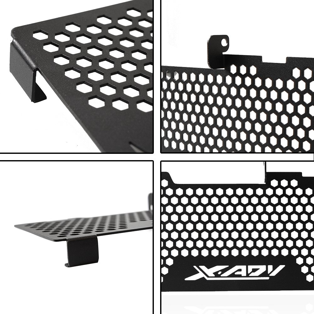 Plata+Azul XADV Reposapi/és Plegables CNC Aluminio Estriberas Traseras para Honda X ADV X-ADV 750 2017 2018