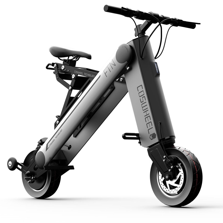 Coswheel A-One X Mini 350W Moda Bicicleta Eléctrica Inteligente 1 Segundo Plegable Bicicleta Eléctrica Plegable y Portátil Ruedas 8/10