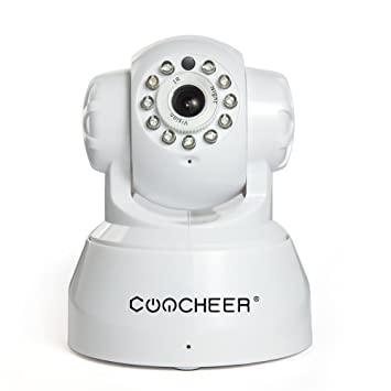 Caméra de Surveillance Sans fil P2P HD 720p PAN Tilt Camera IP ...