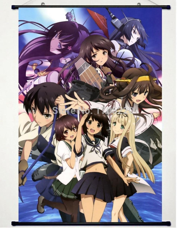 kantai collection HD Print Anime  Wall Poster Scroll Room Decor
