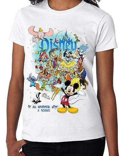 Lukreative Design T-Shirt - Maniche Corte - Donna