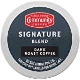 Community Coffee Signature Blend Dark Roast Single Serve K-Cup Coffee Pods, Box of 36 Pods