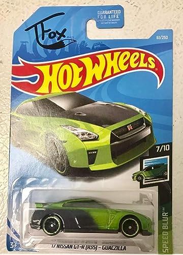 Amazon com : Hot Wheels 2019 Tanner Fox Speed Blur 7/10