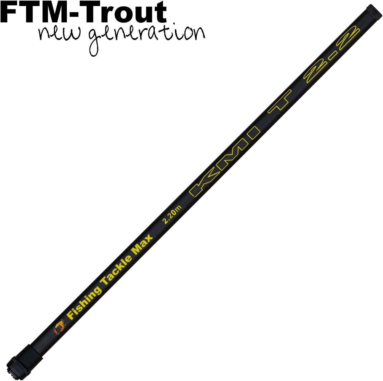 Stab für Kescher Kescherstab Kescherstock FTM Goliat Kescherstange 1,8m