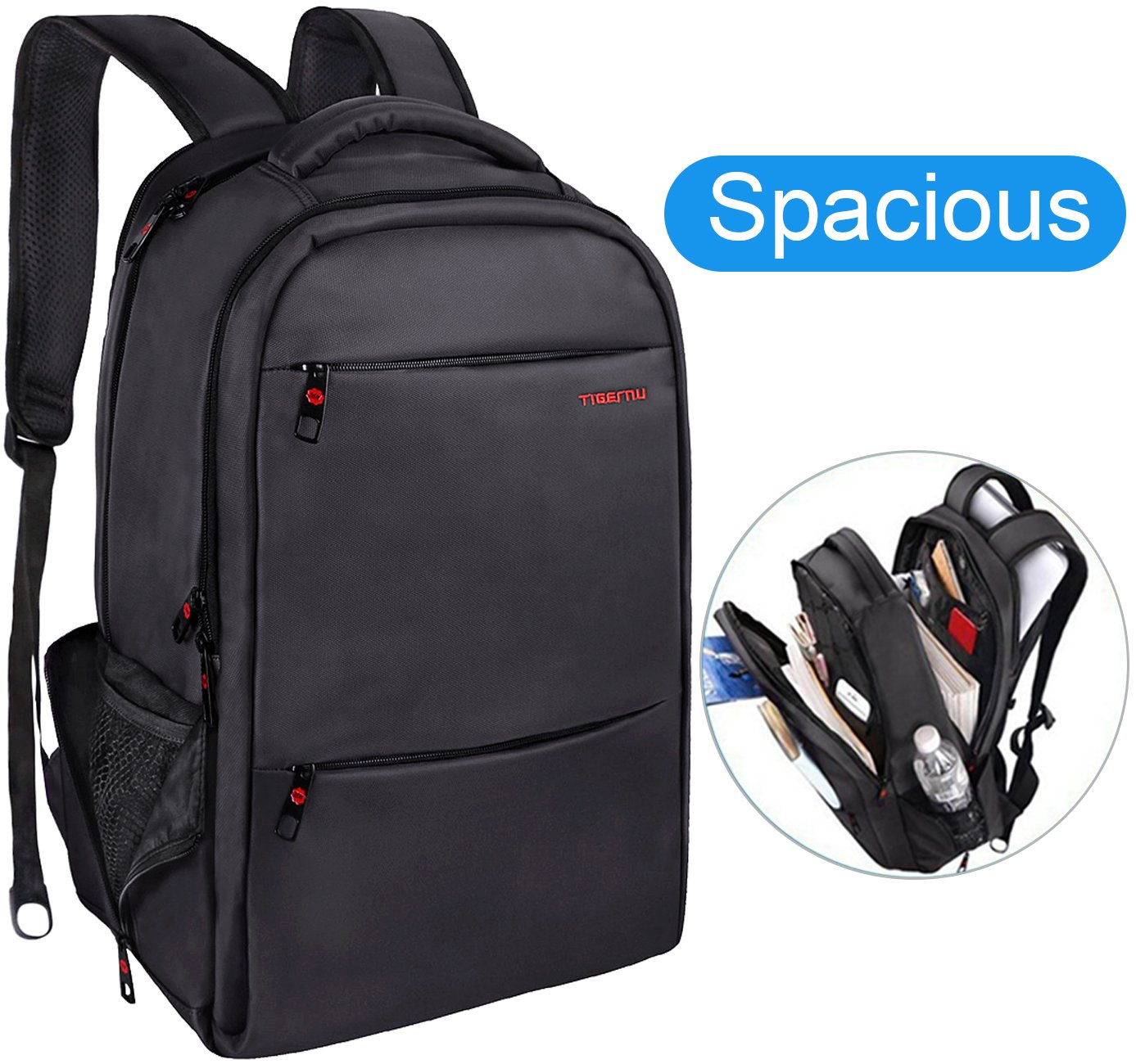 f88ad4890d1f chic LAPACKER 15.6-17 inch Large Business Laptop Backpack for Mens ...