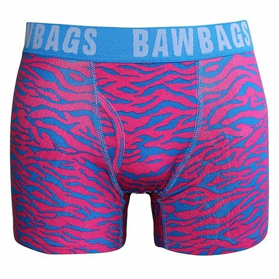 BawBags Tiger Boxers - Pink - XS