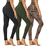 HIGHDAYS High Waisted Leggings for Women - Soft Tummy Control Stretchy Yoga Pants for Workout Running Cycling