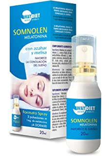 Somnolen Melatonina Spray 20 ml de Waydiet Natural Products