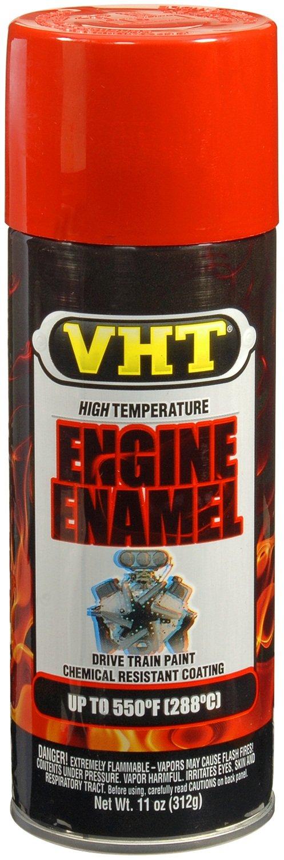 VHT SP123 Engine Enamel Chevy Orange Can - 11 oz. ESP123007