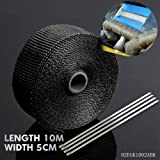 10M Titanium Exhaust Heat Wrap Roll For