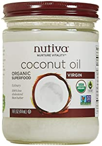 Nutiva Organic Virgin Coconut Oil, 14 ounces