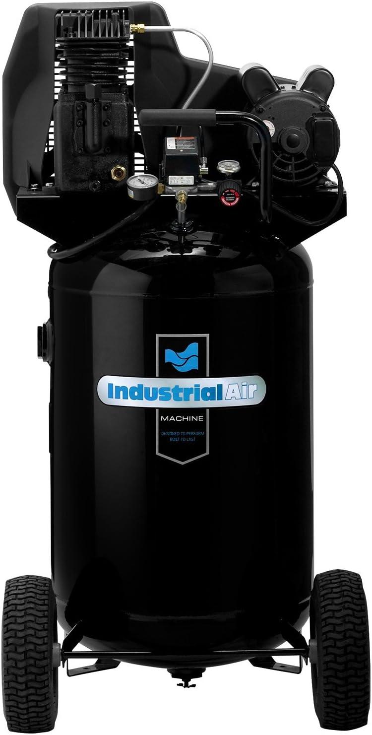 ila1883054 twin-cylinder belt-driven air compressor