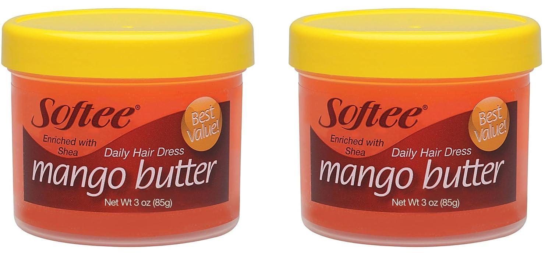 Softee Mango Butter Daily Hair Dress, 2 Pack