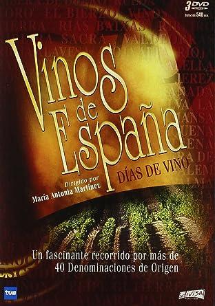 Pack Vinos de España [DVD]: Amazon.es: Varios, Maria Antonia Martinez: Cine y Series TV