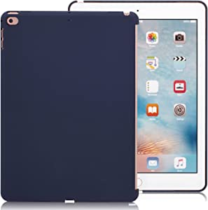 KHOMO A1822, A1823, A1893, A1954 Compatible with Apple iPad 9.7 Inch 2017 and 2018 Inch Midnight Blue Color Case - Companion Cover - Perfect Match for Apple Smart Keyboard and Cover.