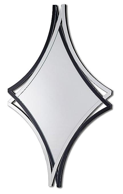 DEKOARTE E017 - Specchio moderno da parete decorativo a forma di ...
