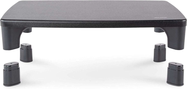 Allsop ALS32190 Hi-Lo Adjustable Monitor Stand, Black
