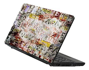 Decusto - Grunge paper - adhesivo en vinilo para decorar tu portátil: Amazon.es: Electrónica