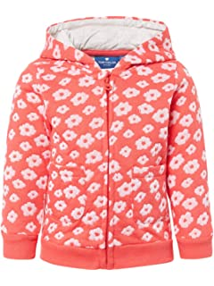 TOM TAILOR M/ädchen Strick /& Sweatshirts Sweatjacke mit Stickerei und Spitze
