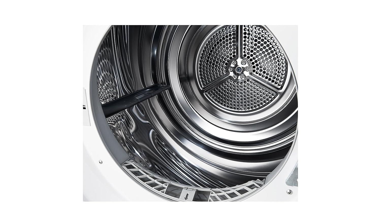 Lg rc8055ah1z wärmepumpentrockner a 8 kg weiß