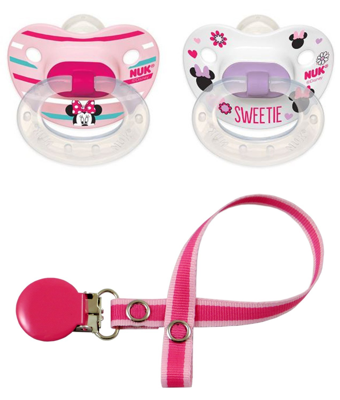 NUK Niñas - Minnie Mouse Disney chupetes Chupete Dummy - Juego de ...