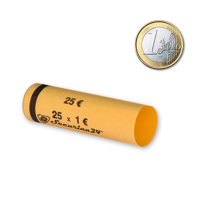 Tubi portamonete da 1 centesimo fino a 2 Euro o 119 pezzi misti , Involucri per monete - Securina24 (tubi portamonete 2 centesimo)
