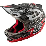 Troy Lee Designs Composite Nightfall Adult D3 Bike Sports BMX Helmet - Black
