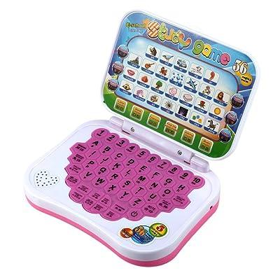 Vi.yo Máquina de Aprendizaje de Historia Multi Propósito de Rompecabezas de Educación Inteligencia de Niño en Máquina de Lectura Inglés y Chino, Juguetes de Computadora Mouse, Colores Aleatorios