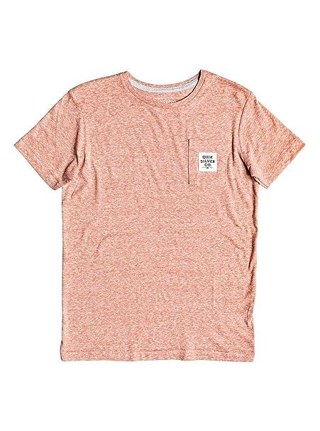 Quiksilver - Camiseta - Niños 8-16 - Rosa  Amazon.es  Ropa y accesorios 0e19e43078f