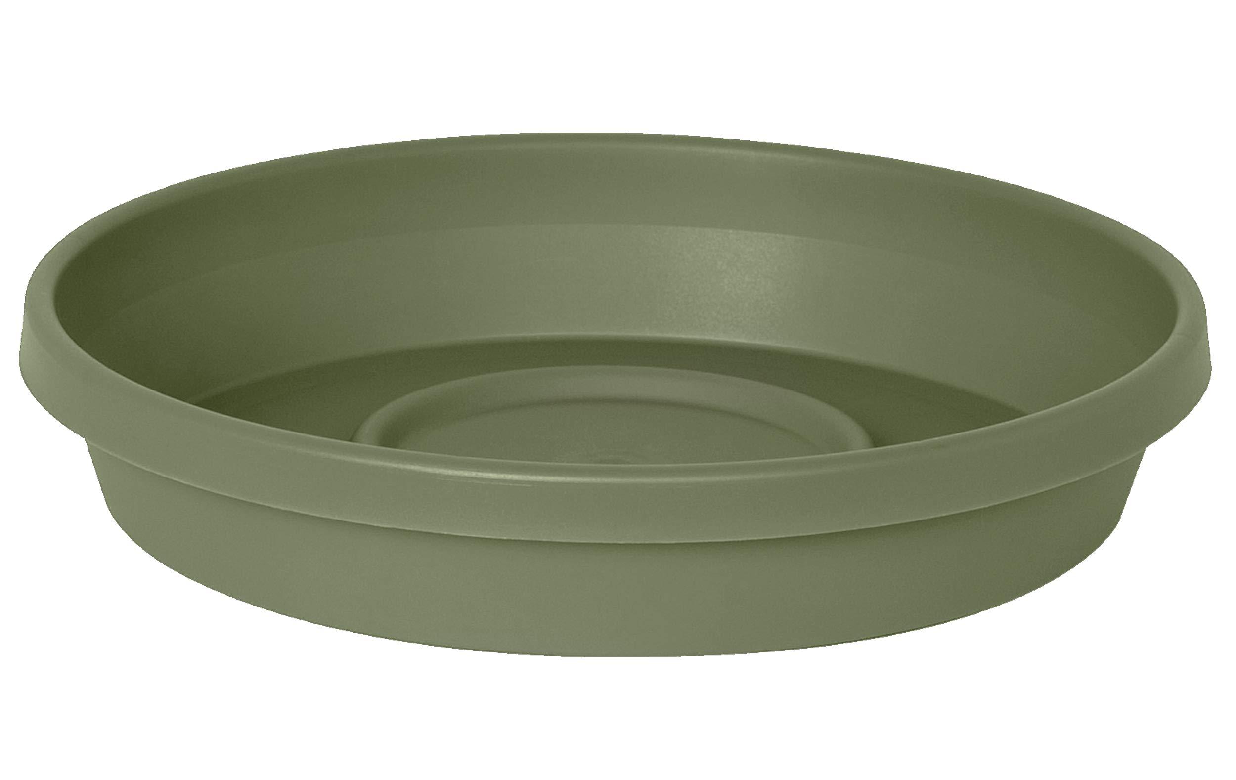 "Bloem Terra Plant Saucer Tray 15"" Living Green"