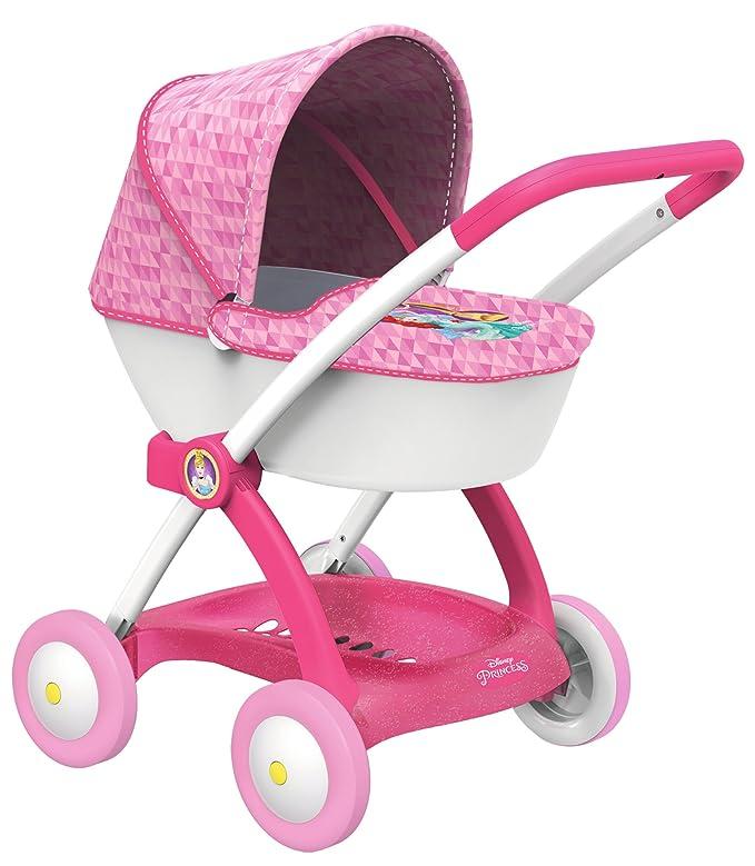 Amazon.es: Smoby 254111 - Disney Princess muñeca Carro con Capota: Juguetes y juegos