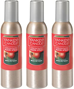 Yankee Candle Concentrated Room Spray 3-PACK (Macintosh)