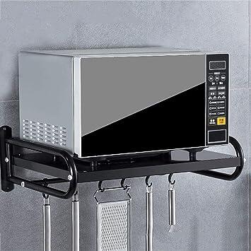ZXUE Estante de Cocina para Colgar en la Pared microondas ...