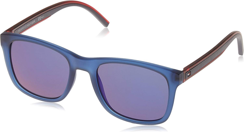 Tommy Hilfiger TH 1493/S XT Gafas de sol, Blue, 53 Unisex-Adulto