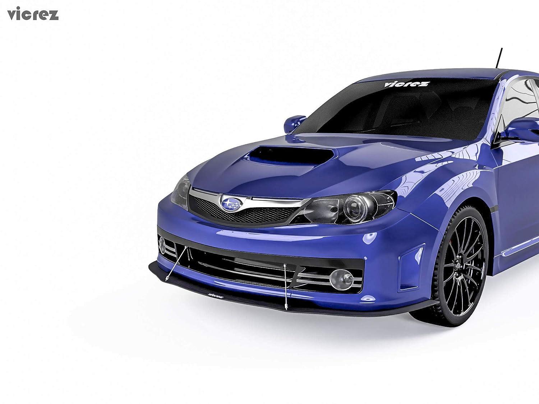 Vicrez Subaru Impreza WRX STI 2011-2014 VZ1 Style Front Bumper Splitter vz100663