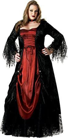 ADULT GOTHIC VAMPIRESS COSTUME