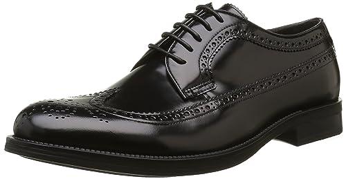 Stonefly Class 2, Zapatos de Cordones Oxford para Hombre, Negro, 44 EU