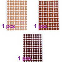 VOSAREA Tornillo Impermeable Cubre Orificios Antideslizantes Pegatinas Decorativas