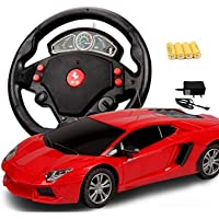 Amitasha Steering Control Sports Racing RC Car Toy for Kids