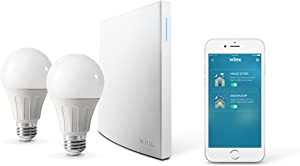 Wink Bright Smart Home Lighting Starter Kit with Wink Hub 2, SYLVANIA SMART+ bulbs, Compatible with Amazon Alexa and Google Assistant