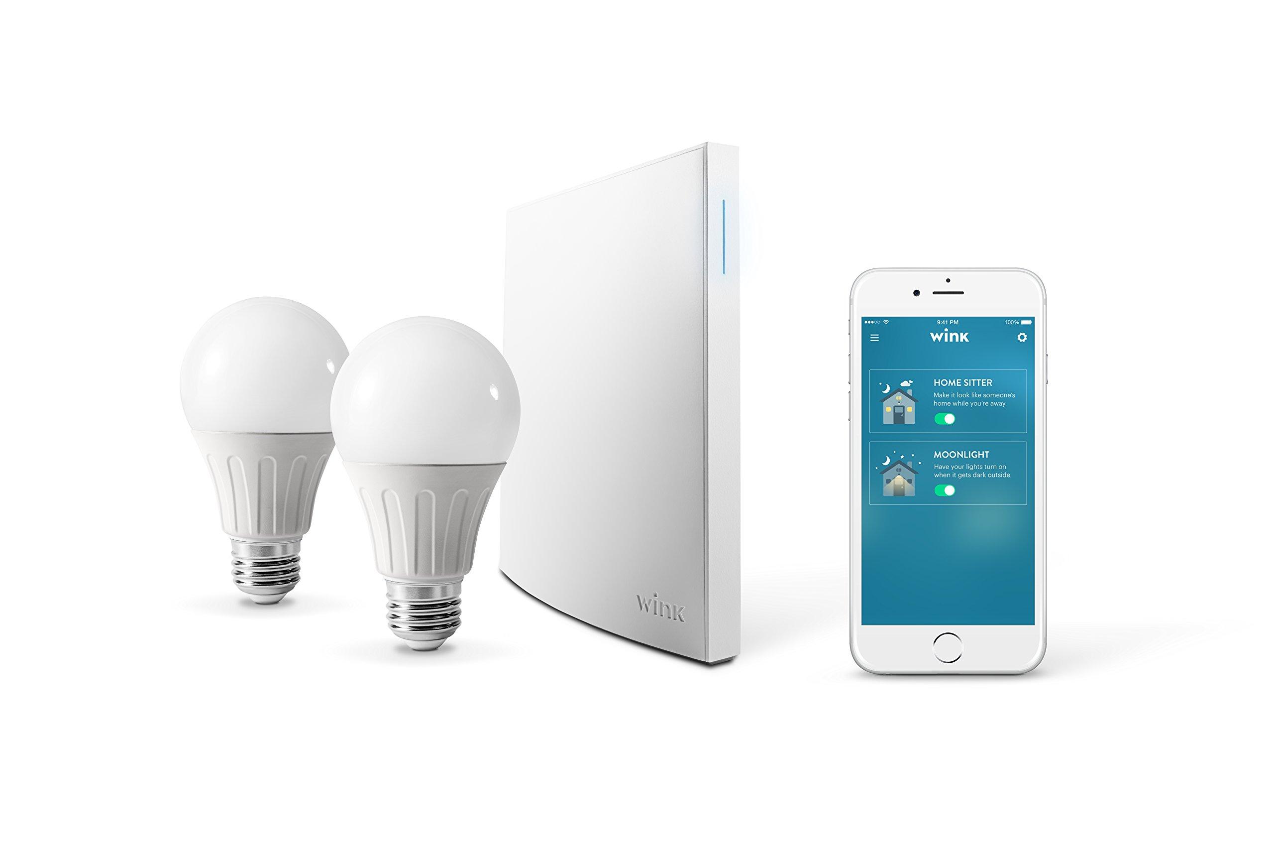 Wink Bright smart lighting essentials., Works with Amazon Alexa by Wink