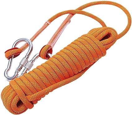 ccfgh Cuerda de Escalada Rescate Cuerda Atada Cuerda Ayuda ...