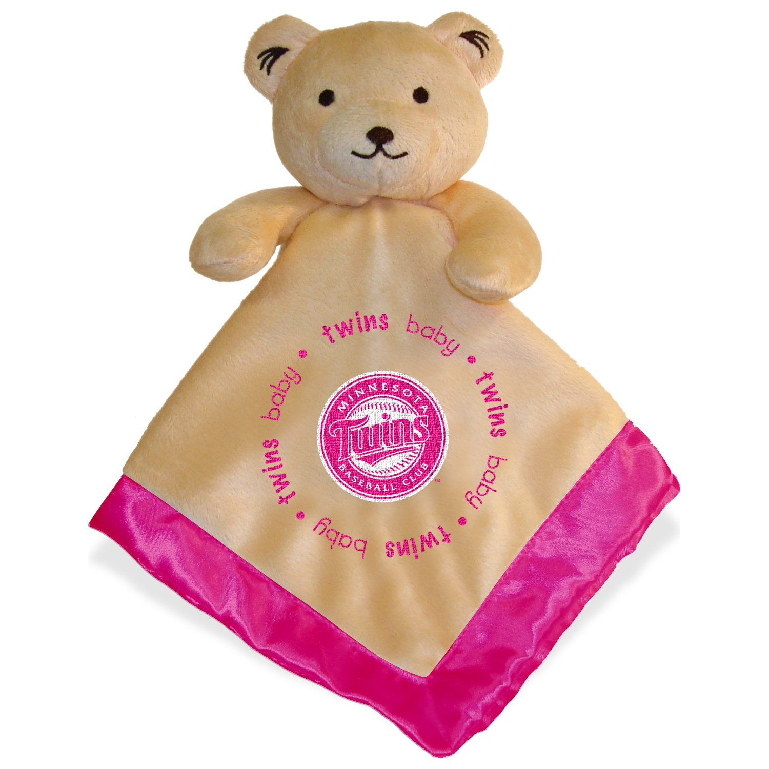 Baby Fanatic Security Bear Minnesota Twins Pink Sports Images Inc BFBBMINSBP