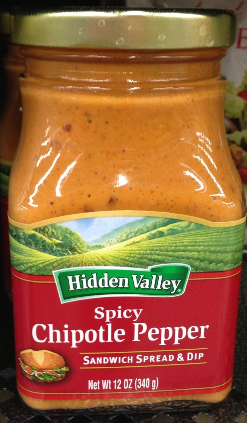 amazon com hidden valley ranch spicy chipotle pepper sandwich
