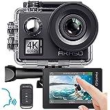 AKASO V50 Elite 4K/60fps pekskärm WiFi actionkamera röststyrning EIS 40 m vattentät kamera justerbar vy vinkel 8X…