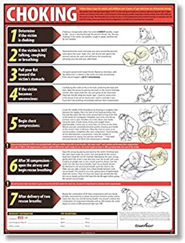 ComplyRight Lifesaving Choking Poster English