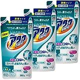 【まとめ買い】ウルトラアタックNeo 洗濯洗剤 濃縮液体 詰替用 360g×3個